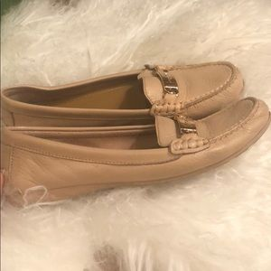 75d6fdd3c7c Coach Shoes - Nude tan Coach Olive Loafers women s size 8